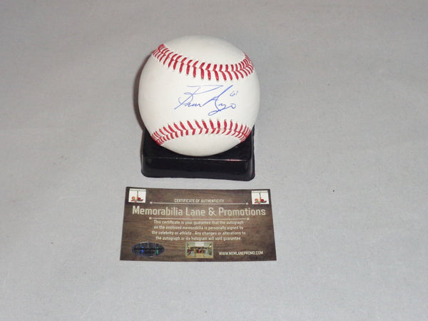 Bronson Arroyo DIAMONDBACKS Autograph Baseball COA Memorabilia Lane