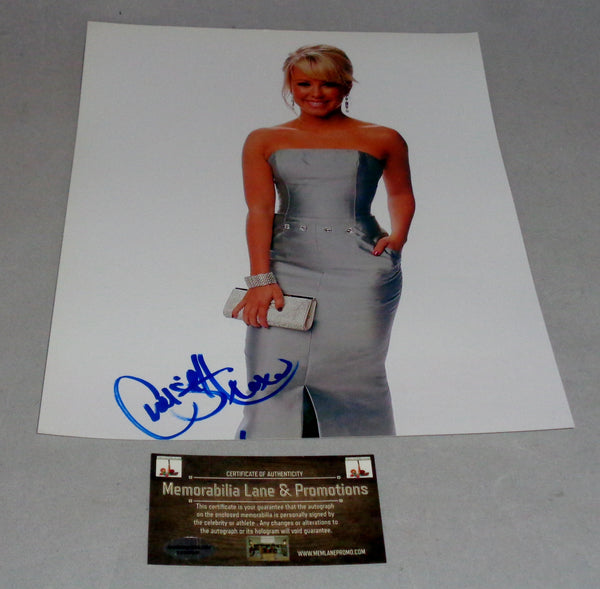 Chelsea Hightower DANCING WITH THE STARS autographed 8.5x11 Memorabilia Lane