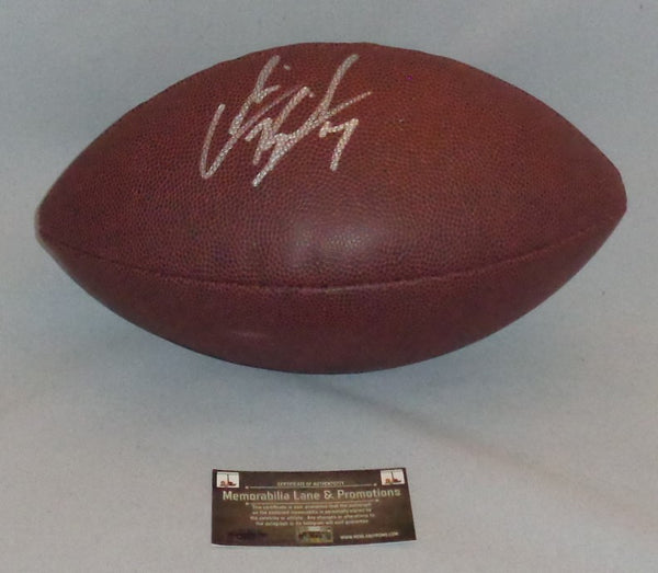 HOLIDAY CLOSE OUT COLIN KAEPERNICK 49ERS autograph Football COA Memorabilia Lane & Promotions