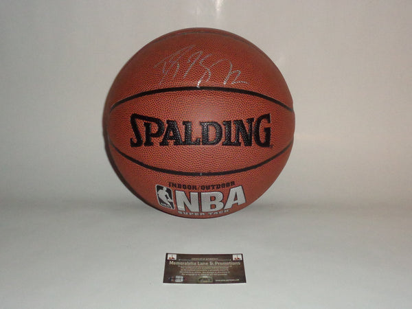 Dwight Howard HORNETS ROCKETS autograph basketball COA Memorabilia Lane & Promotions
