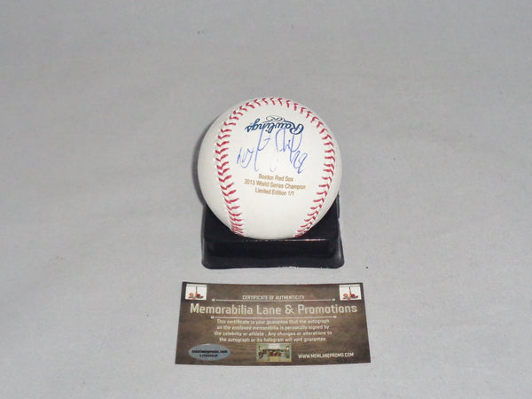 Felix Doubront RED SOX autograph baseball LTD EDITION MEMORABILIA LANE