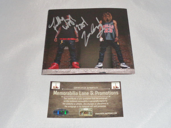 Fetty Wap autograph CD COVER COA Memorabilia Lane & Promotions