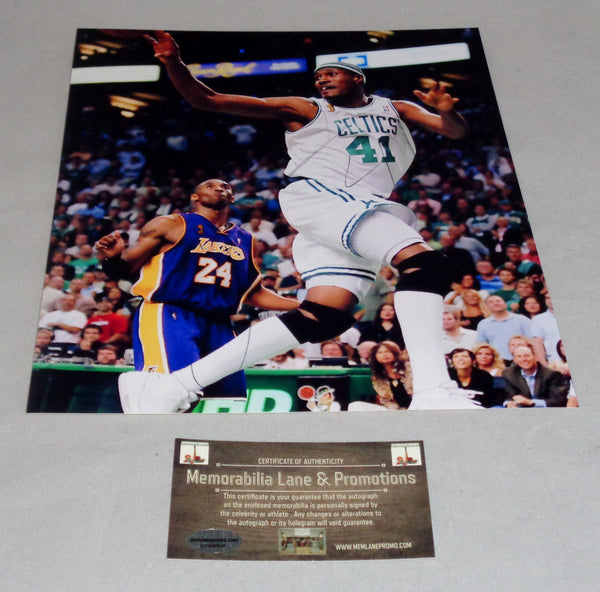 James Posey CELTICS autograph 8x10 COA Memorablia Lane & Promotions