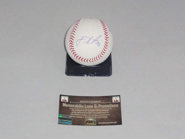 BLACK FRIDAY CLOSE OUT  $75 JD Martinez RED SOX autograph Baseball COA Memorabilia Lane