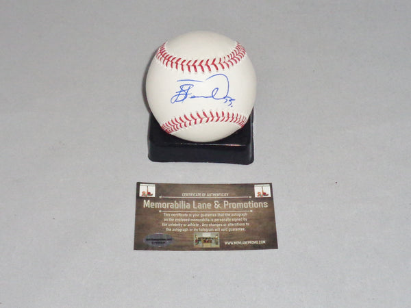 Joaquinn Benoit $12 BLACK FRIDAY BLOW OUT autographed baseball COA Memorabilia Lane