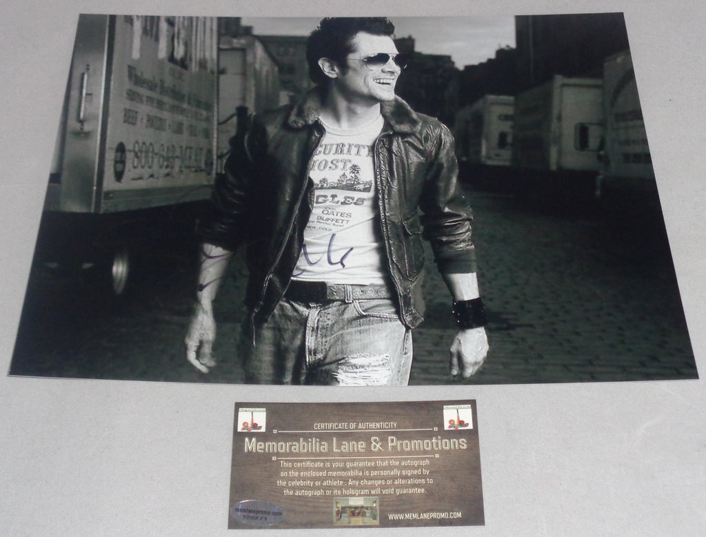 Johnny Knoxville Autographed 8x10 Jackass COA Memorabilia Lane & Promotions