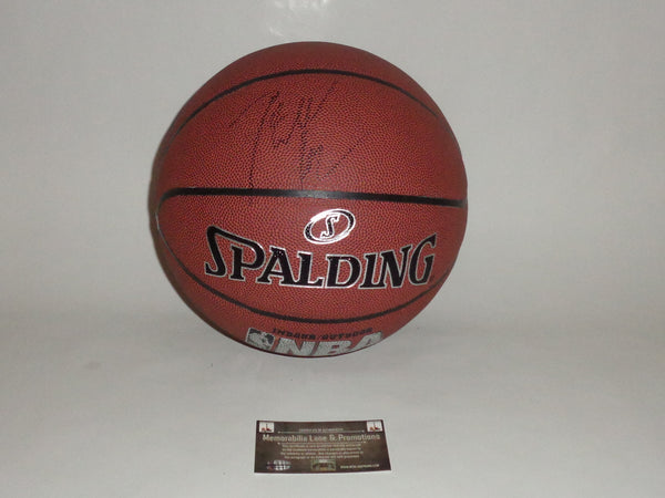 John Wall WIZARDS autograph basketball COA Memorabilia Lane & Promotions