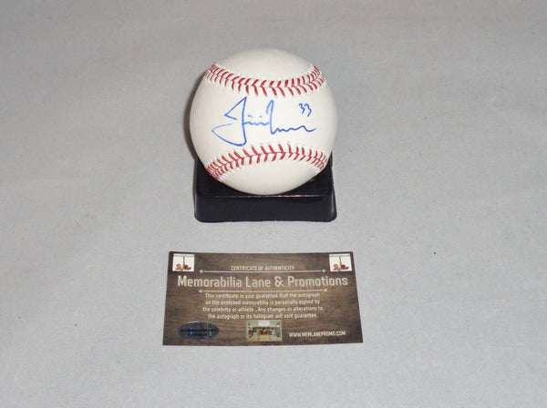 BLACK FRIDAY CLOSE OUT Justin Morneau TWINS autograph OML Baseaball COA Memorabilia Lane & Promotions
