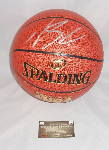 Karl Anthony Towns Minnesota Timberwolves autograph basketball COA Memorabilia Lane & Promotions