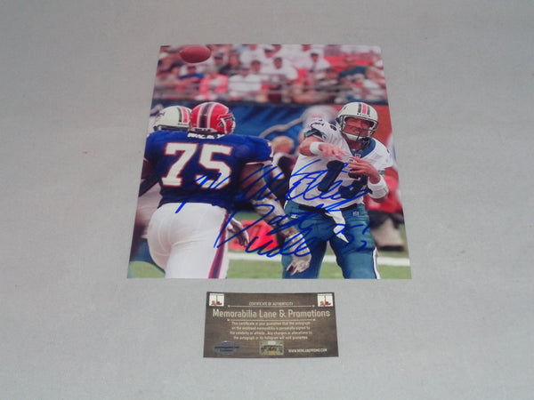 Marcellus Wiley BILLS autographed 8X10 photo COA Memorabilia Lane & Promotions