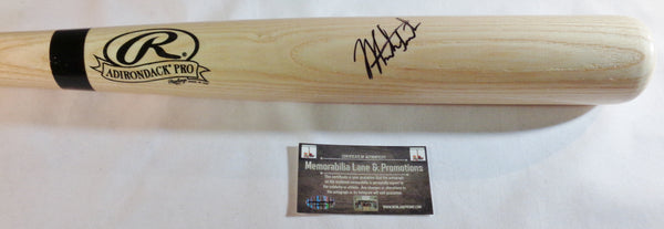 Mark Trumbo Autograph Bat ORIOLES DIAMONBACKS COA Memorabilia Lane