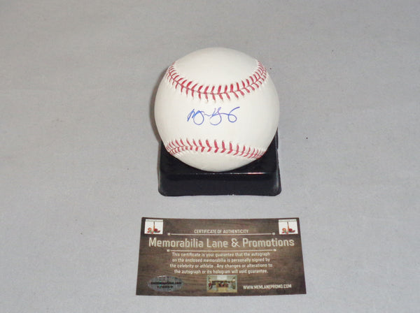 Michael Young PHILLIES RANGERS autograph Baseball Memorabilia Lane & Promotions