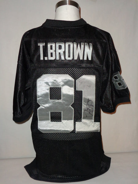 Tim Brown RAIDERS autograph jersey COA Memorabilia Lane & Promotions