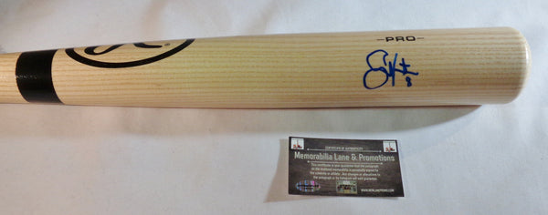 Shane Victorino PHILLIES REDSOX autograph big stick bat COA Memorabilia Lane