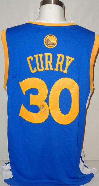 Stephen Curry WARRIORS autograph jersey COA Memorabilia Lane & Promotions