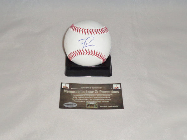 CLOSE OUT Terry Francona Michael Brantley Shawn Armstrong autograph INDIANS OML Baseball COA Memorabilia Lane & Promotions