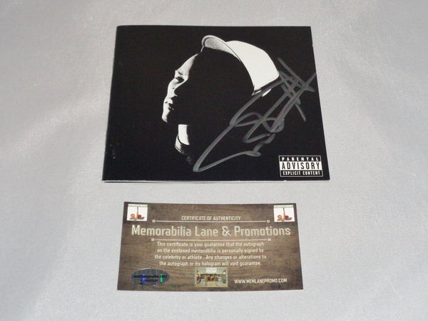 TI KING autograph CD COVER COA Memorabilia Lane & Promotions