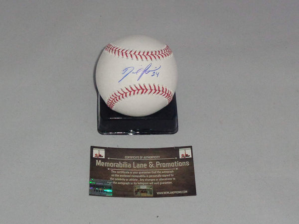 FLASH SALE $125 David Price RED SOX autograph Baseball COA Memorabilia Lane