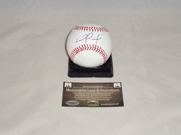 BLACK FRIDAY CLOSE OUT Nomar Mazara RANGERS autograph OML baseball COA Memorabilia Lane