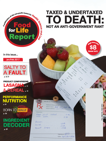 Issue #1 of Food for Life Report