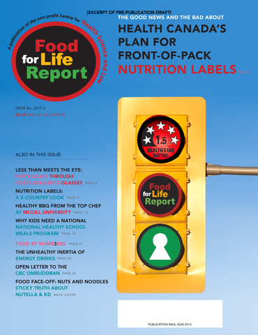 Issue #3 of Food for Life Report