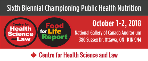 FULL-TIME STUDENT RATE 6th Biennial Championing Public Health Nutrition conference