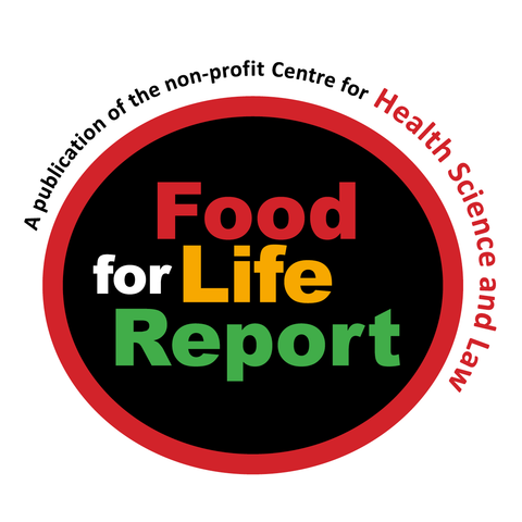 PAY BY CHEQUE to renew/subscribe to Food for Life Report