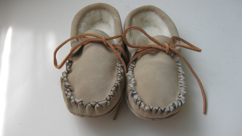 Suede Sheepskin Slippers   Canada