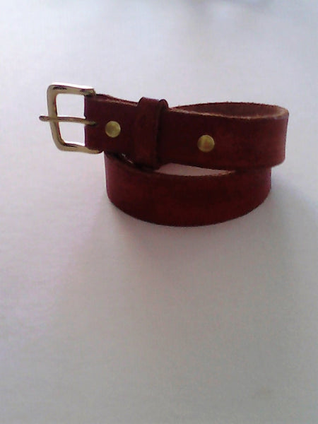 Leather Belts.
