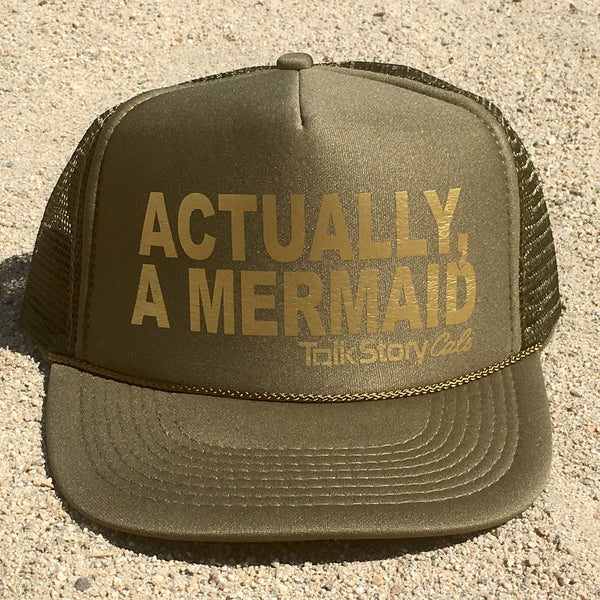 ACTUALLY, A MERMAID