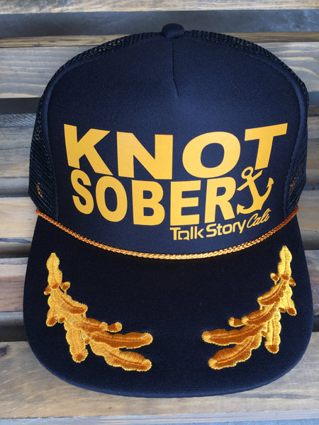 Knot Sober Captain hats