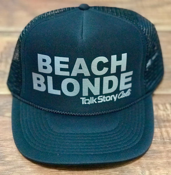 BEACH BLONDE Trucker hats