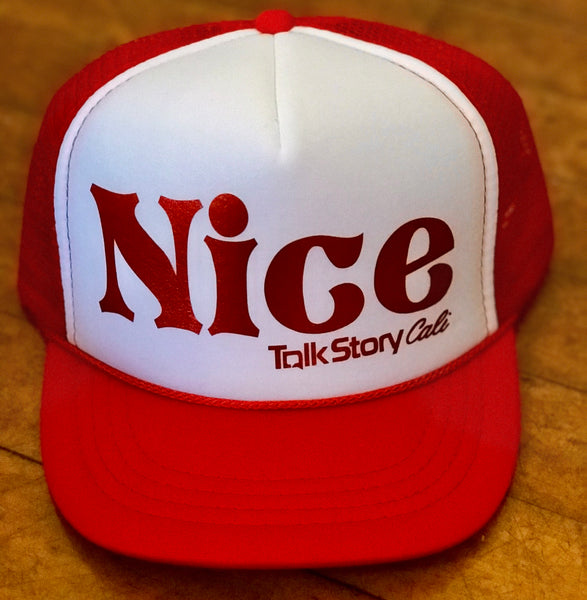 d757a23c179 NICE holiday trucker hat – TalkStoryCali