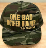 One Bad MOTHER Runner  trucker hat
