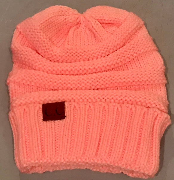 Light Pink CC Beanie Adult