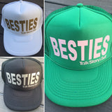 BESTIES trucker hats