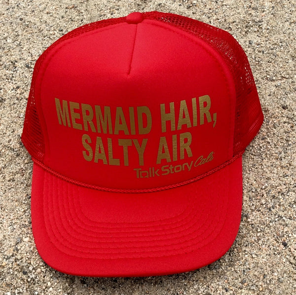 MERMAID HAIR, SALTY AIR Hat