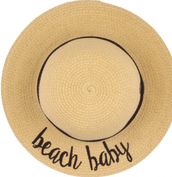 BEACH BABY Kids Sun Hat