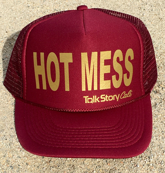 HOT MESS Trucker hats