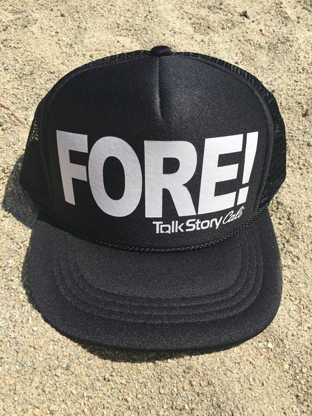 FORE! Golf Trucker hats