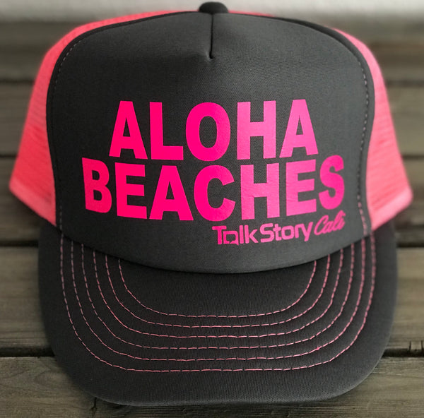 ALOHA BEACHES Trucker Hats