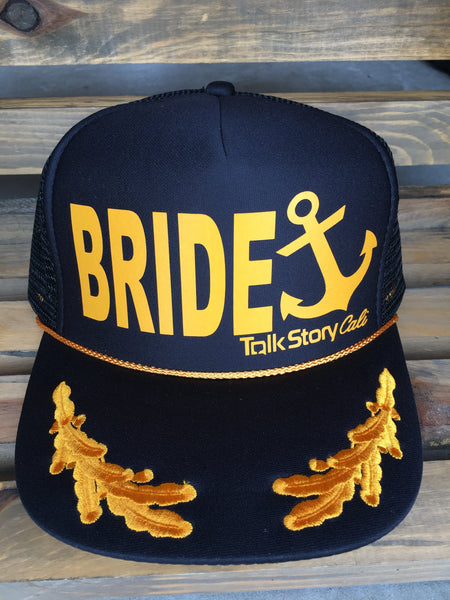 BRIDE Captain style trucker hats