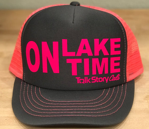 ON Lake Time trucker hat
