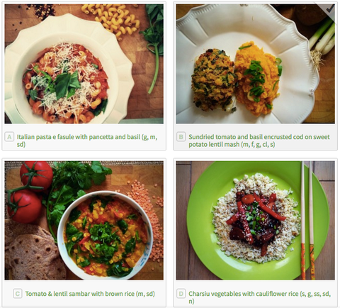 healthy dinner recipes delivered in Dublin