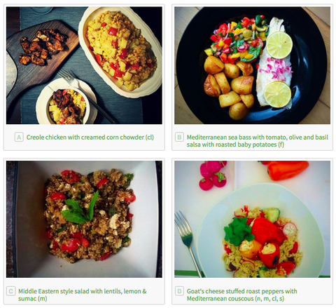healthy recipes delivered to your door