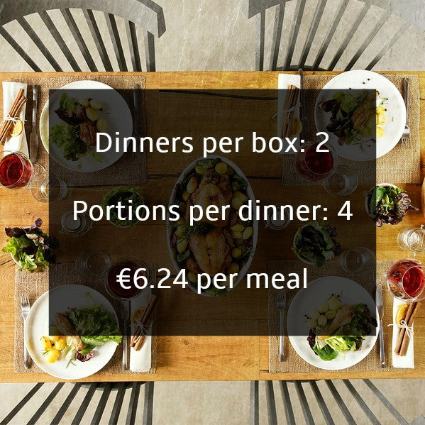 Healthy recipes for families delivered in food boxes in Ireland