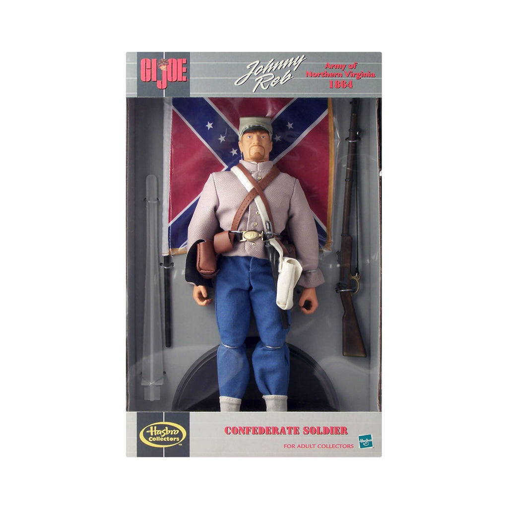 "G.I. Joe Confederate Soldier Army of Northern Virginia 1864 ""Johnny Reb"""