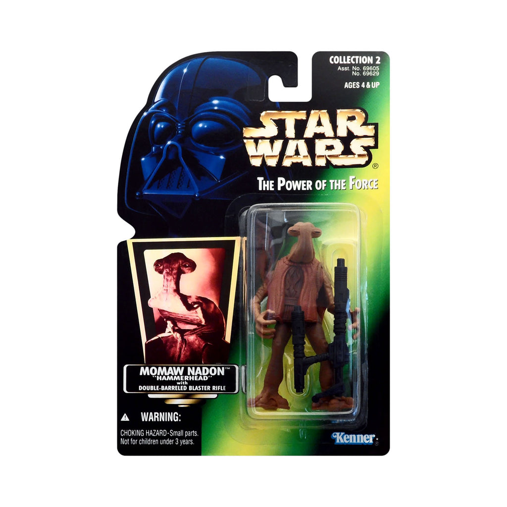 "Star Wars: Power of the Force Momaw Nadon ""Hammerhead"" (hologram card)"