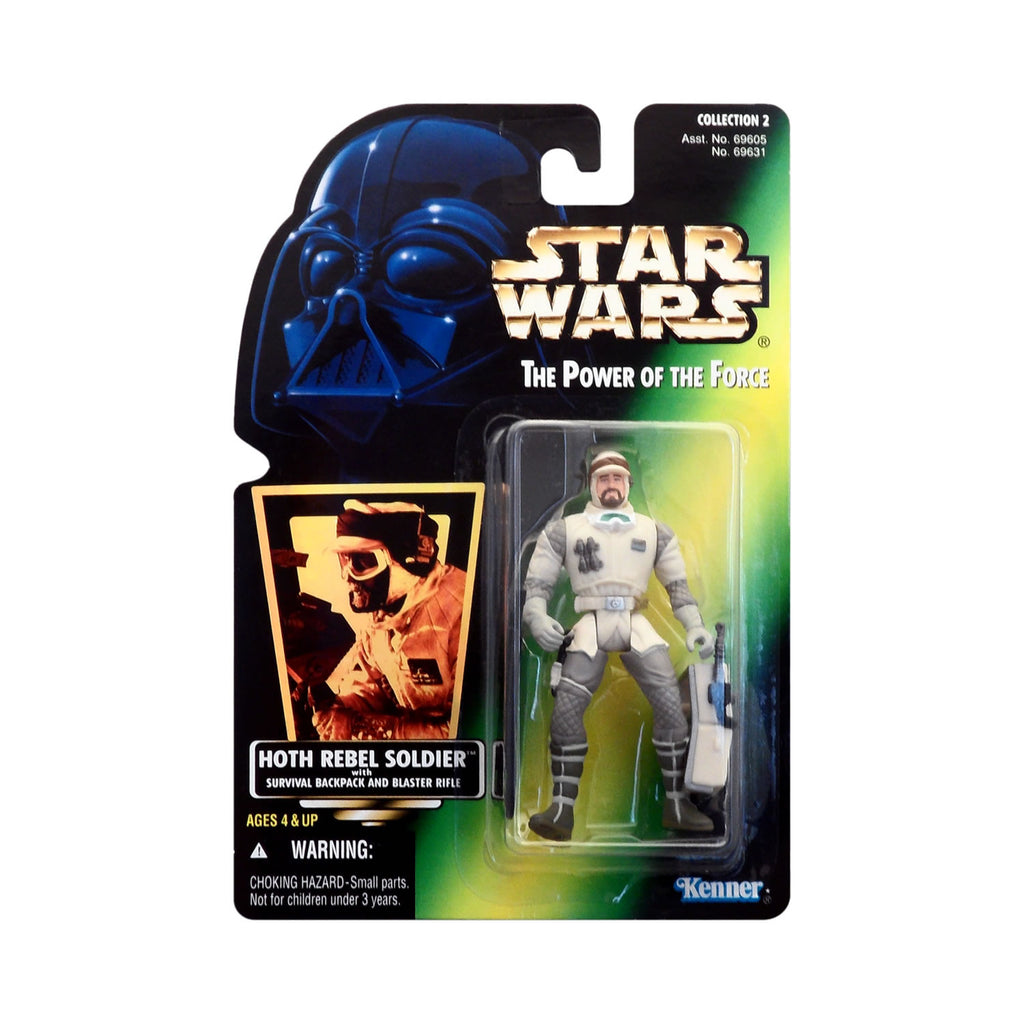 Star Wars: Power of the Force Hoth Rebel Soldier (hologram card)