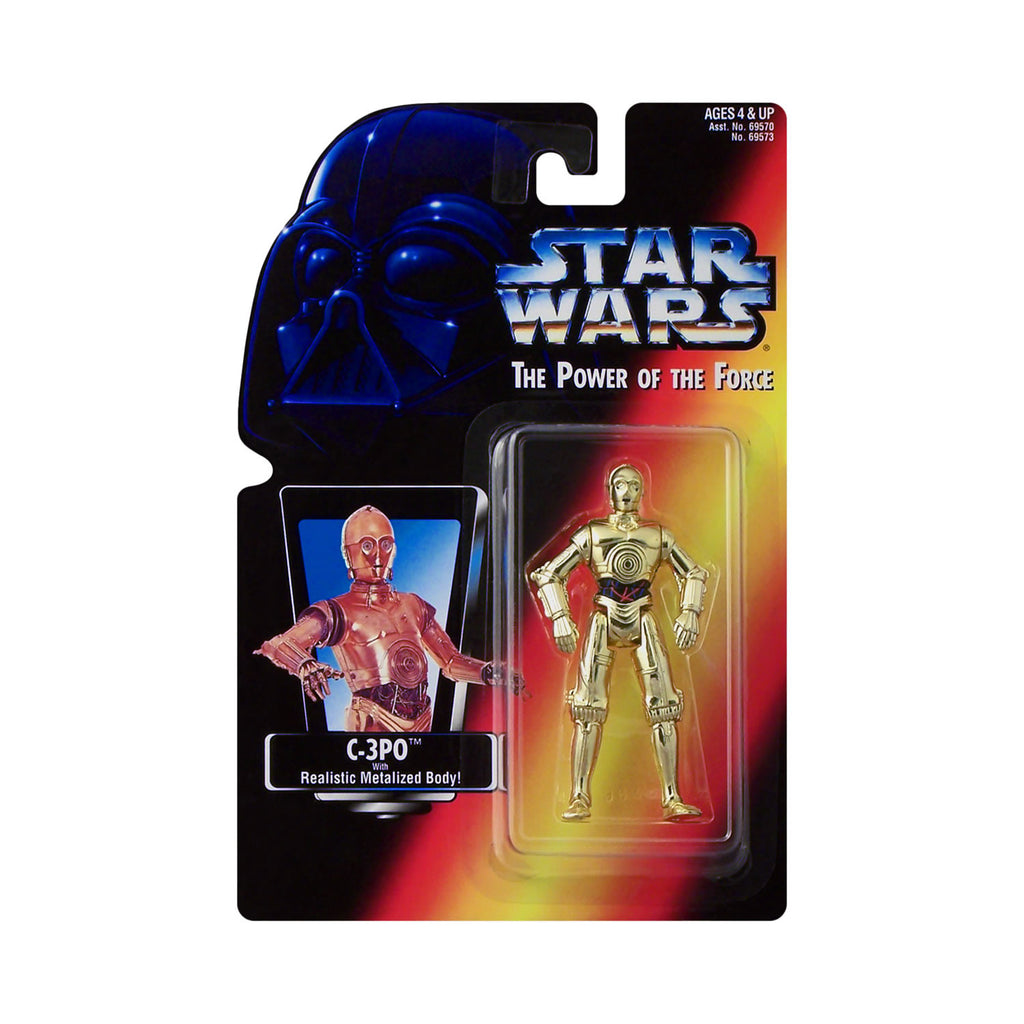 Star Wars: Power of the Force C-3PO (red card)